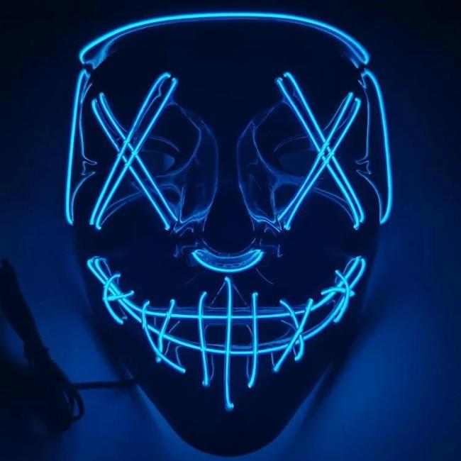 LED Halloween Purge Mask