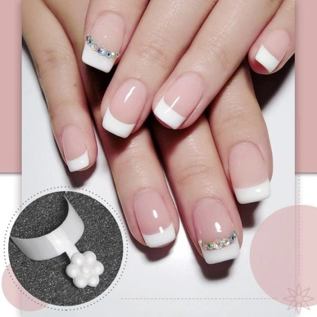 French Chip-Proof Manicure Kit - Suitable for All Finger Sizes