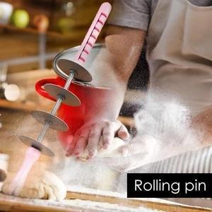 Multi-function Bread Slicer Set :Blade Roller + Croissant Cutter