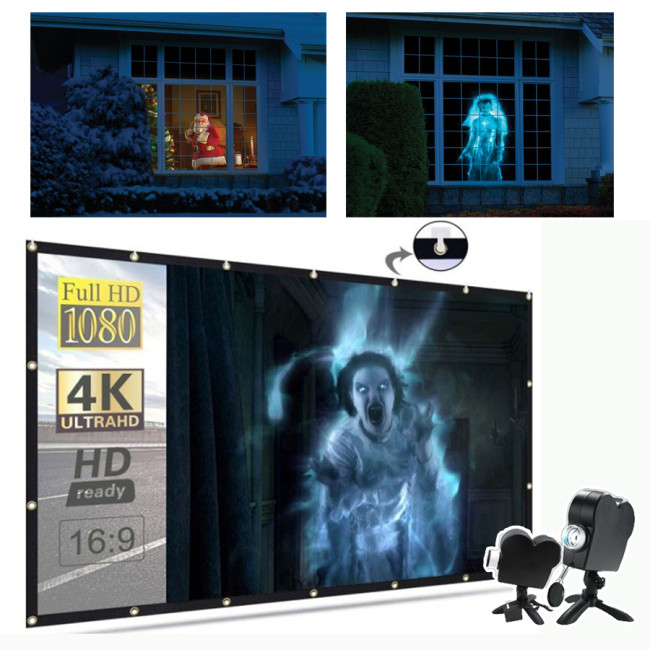 Halloween Holographic Projection
