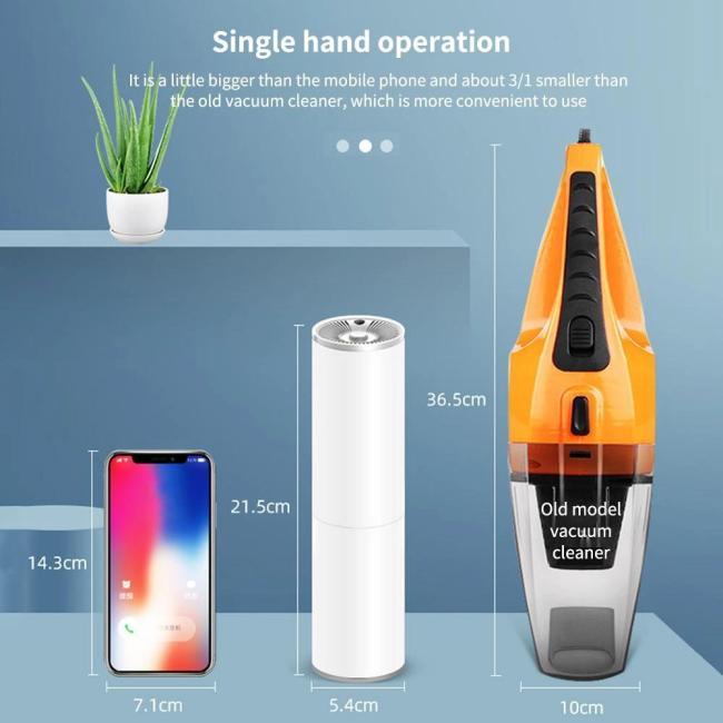 Handheld Auto Vacuum Cleaner