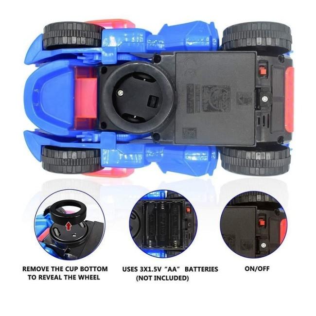 TRANSFORMING DINOSAUR LED CAR