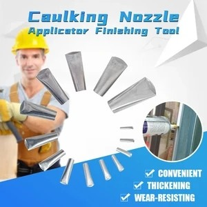 Caulking Nozzle Applicator Finishing Tool