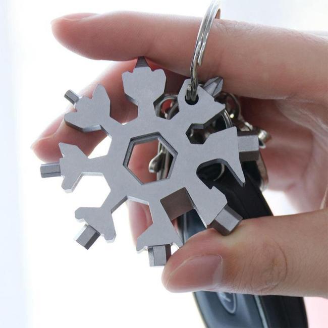 18-in-1 stainless steel snowflakes multi-tool