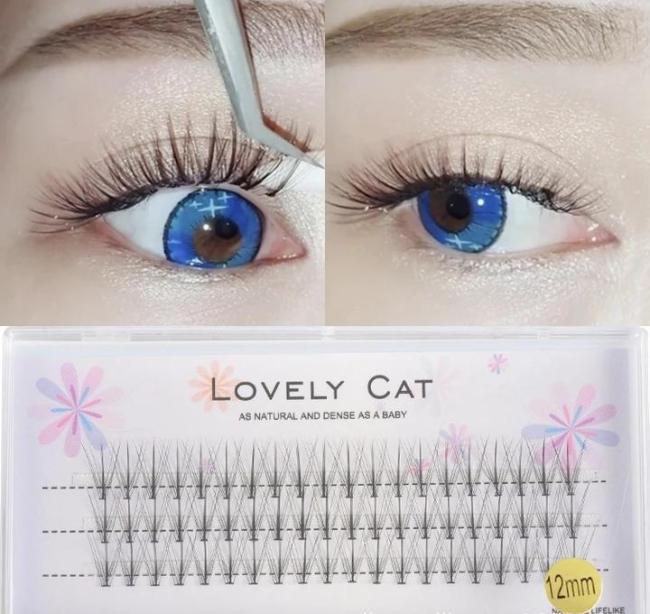 10D Grafting eyelashes