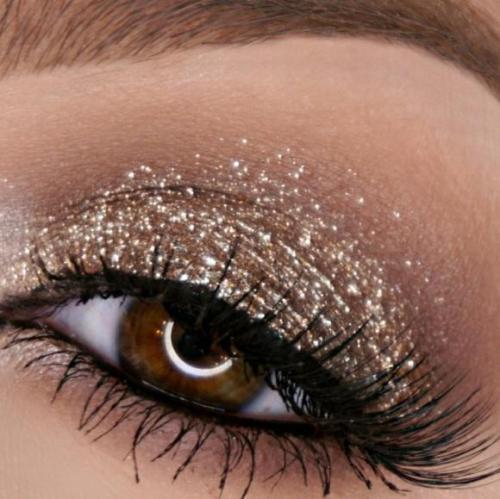 Magnificent Metals Glitter & Glow Liquid Eye Shadow SET/6Color