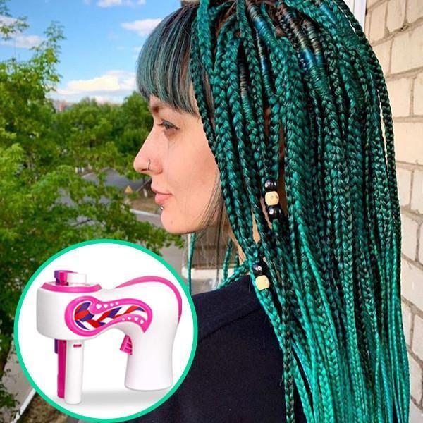 2020 HOT Automatic Hair Braider and Fancy Diamond Patch Kits