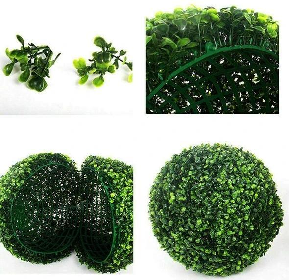 Simulation Plant Grass Ball