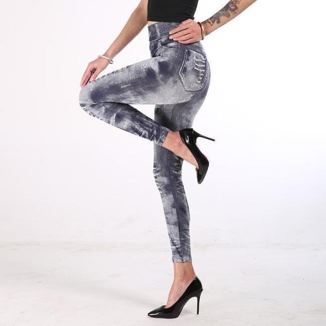 Stretchy Slimming Jeans Leggings
