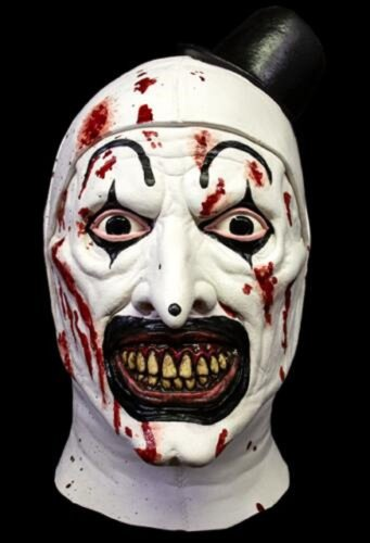 Art The Clown Mask - Halloween will be the carnival time for the clown