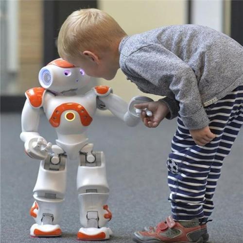 High-tech Artificial Intelligence Robot
