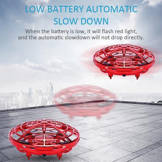 Mini Drone Quad Induction Levitation UFO