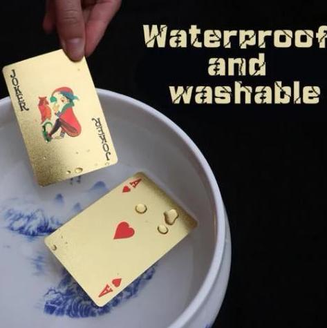 24K Carat Gold Playing Cards