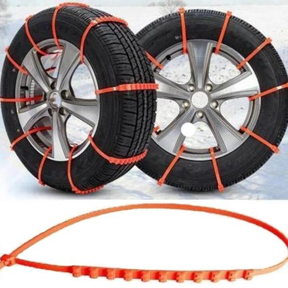 Anti-skid cable ties for new portable vehicles