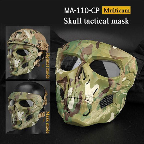 The Best And Coolest Halloween Gift!Tactical Skull Mask