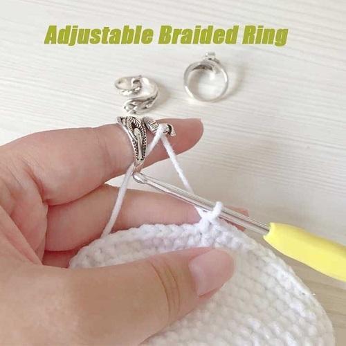 Adjustable Knitting Loop Crochet Loop Knitting Accessories