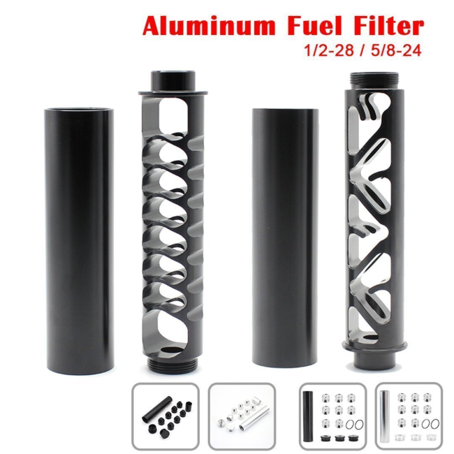 Fuel Filter 4003 WIX 24003 -1/2-28 5/8-24 Aluminum Solvent Trap