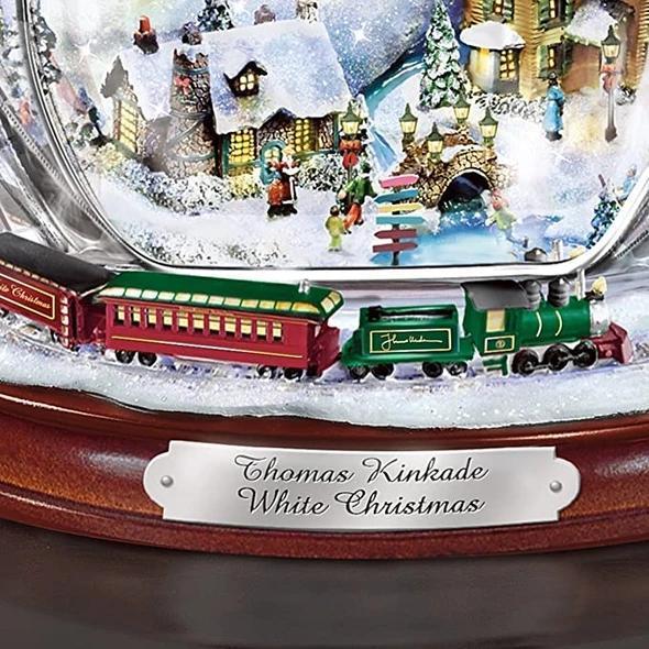 Paintings-Wonderland Express-Masterpiece Edition Crystal Snowman