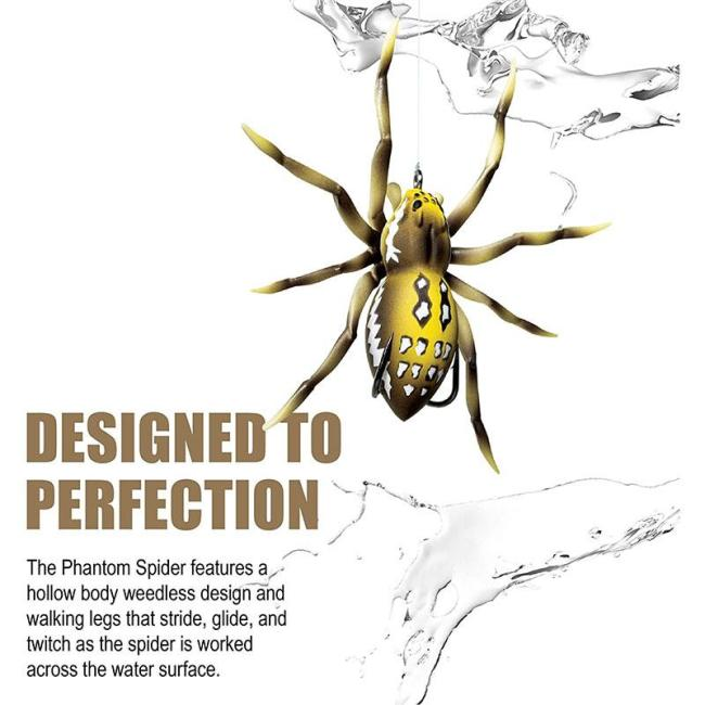 Spider Soft Lure Fishing Lures