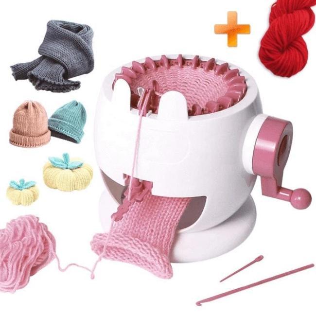22 & 48 Needles Knitting Loom Machine