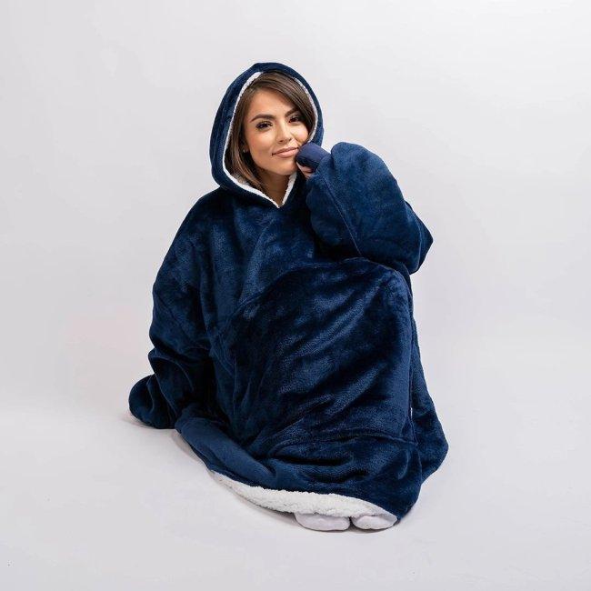 The Oversized Blanket Hoodie