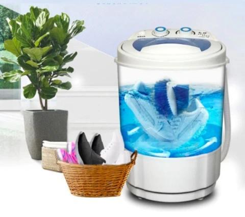 Mini shoe washing machine