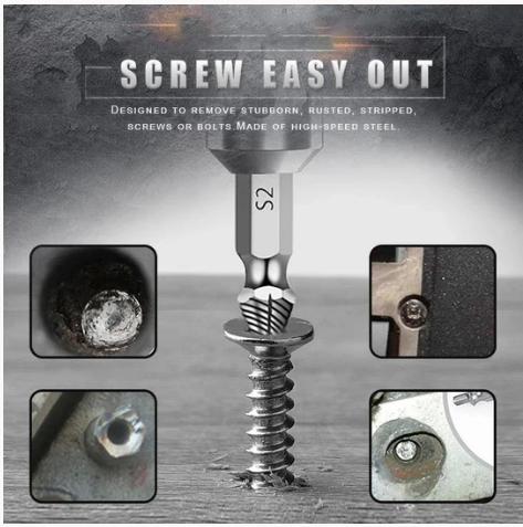 Screw Extractor(4 Pcs/5pcs/6pcs)