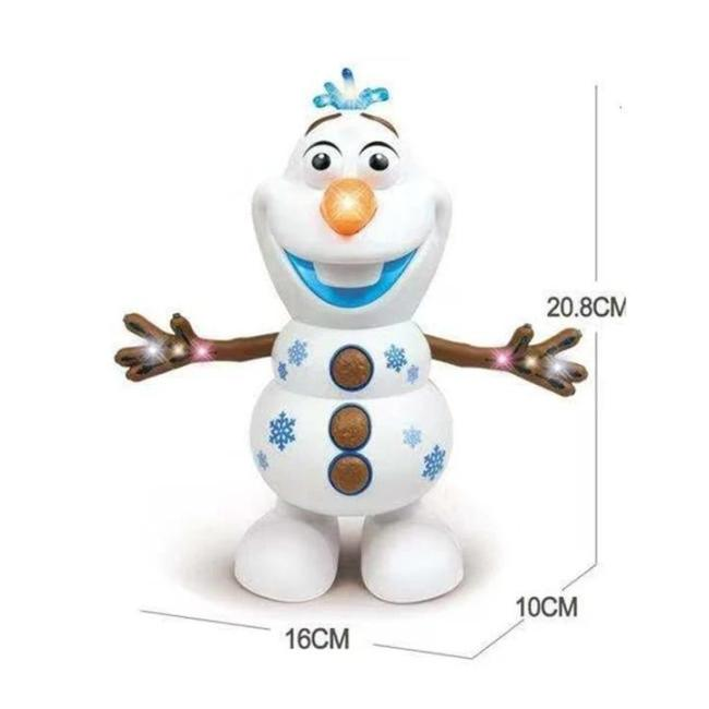 Olaf Dancing and Little Cute Duck Dancing(Electric)