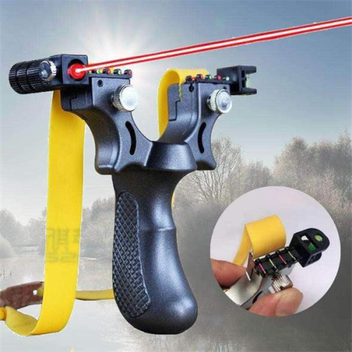 Laser Guided Slingshot