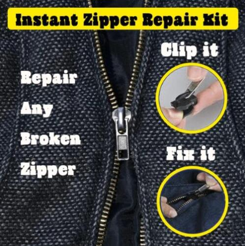 Instant Zipper Repair Kit (6 pcs)