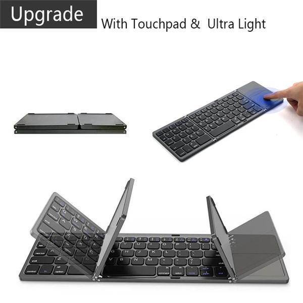 Wireless Bluetooth Foldable Keyboard