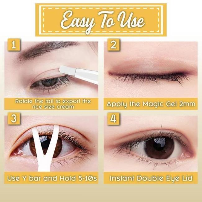 Invisible Double Eyelid Shaping Cream (Buy More Save More)