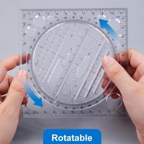 Multi-function Drawing Ruler