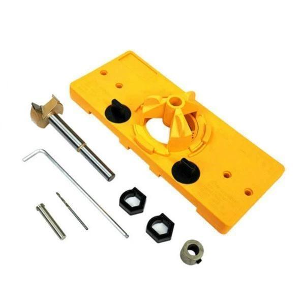 35mm Hinge Drilling Jig Woodworking Tool Set