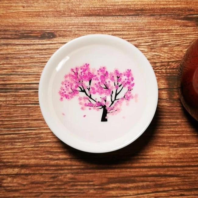 Magic Sakura Cherry Blossom Sake Cup