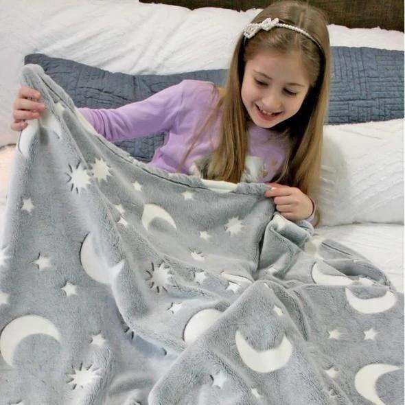 Glow-in-the-dark Children Blanket