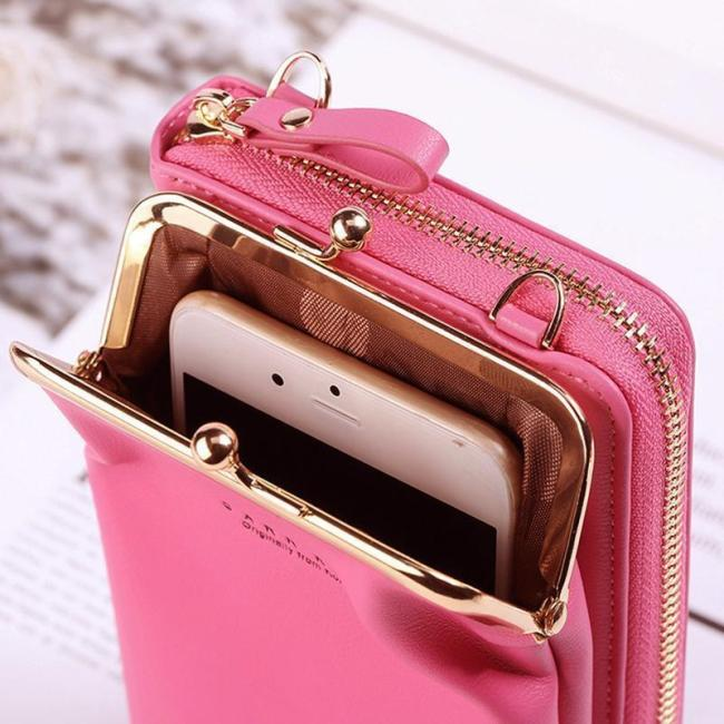 2020 New Lychee Pattern Women Phone Bag Messenger bag
