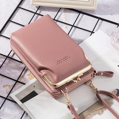 2020 New Lychee Pattern Women Phone Bag Messenger bag