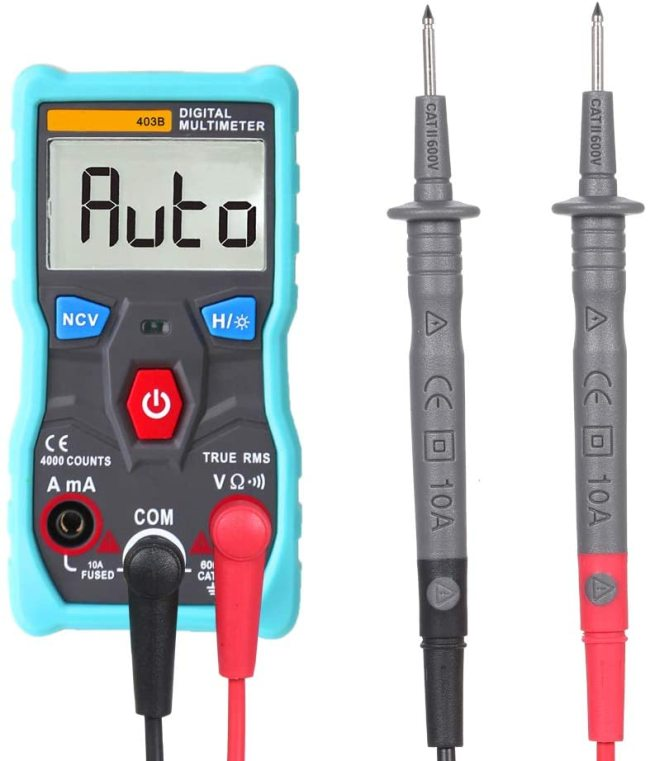 Digital Multimeter DC AC Voltmeter Bluetooth Wireless APP Control Tester