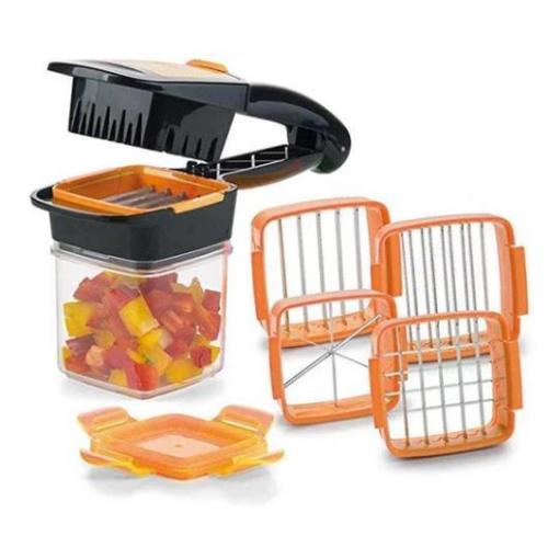 The Best 5-in-1 Fruit and Vegetable Dicer Chopper