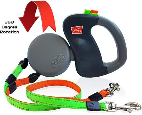 Dual Dogs Retractable Leash