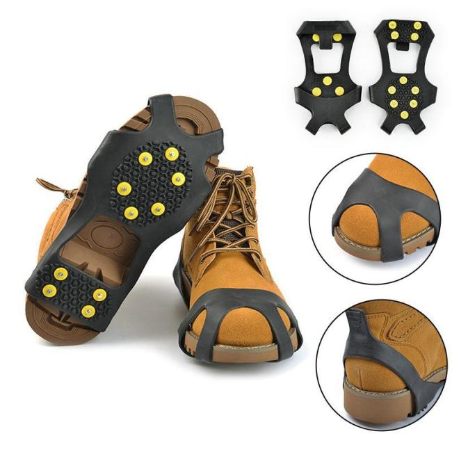10 Tooth Crampons Non-slip Shoe Covers
