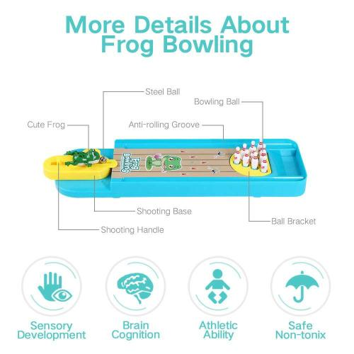 Mini Frog Bowling Toy