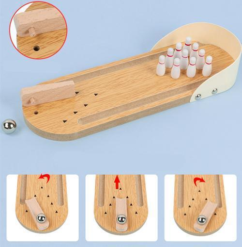 Mini Bowling Table Game | Perfect for Kids & Adults