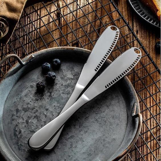 3 In 1 Food Grade 304 Stainless Steel Butter Knife