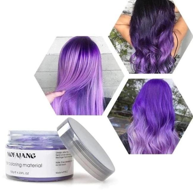 Hair coloring cream