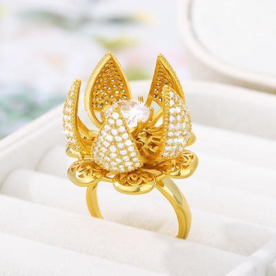 FLOWER BLOOM RING