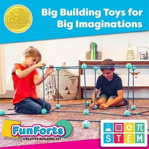 Fort Building Kit For Kids