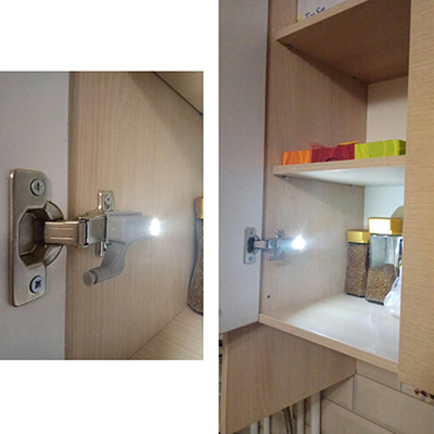 Hinge LED Sensor Light