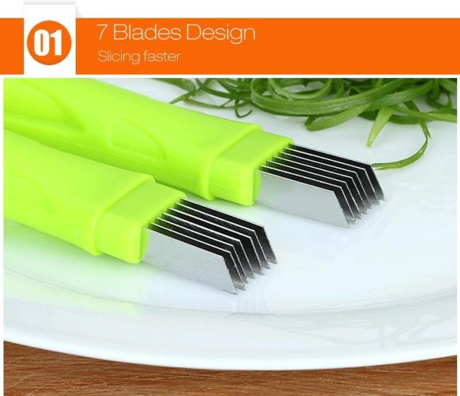 Shred Silk The Knife - durable, safe sanitation and easy to clean